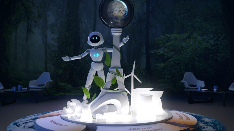 Animation de l'environnement en 3D