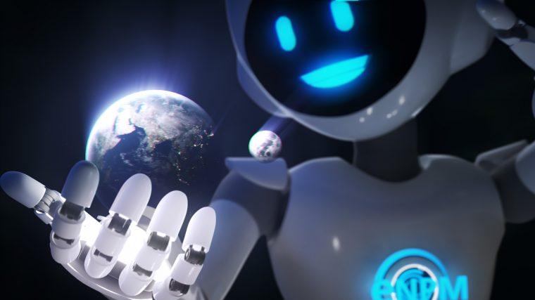 Animation de l'hologramme en 3D